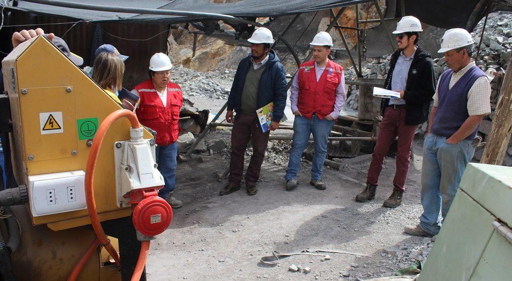 Pirquineros de Andacollo cuentan con nueva maquinaria para trabajar en el Rajo Las Loas